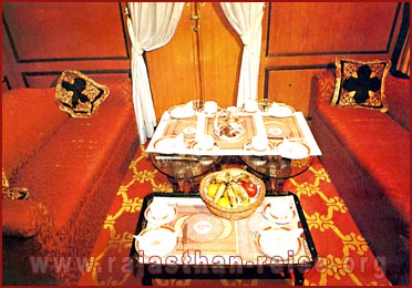 Interior of Palace on Wheels